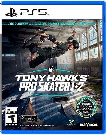 Jogo Tony Hawk's Pro Skater 1+2 - PS5