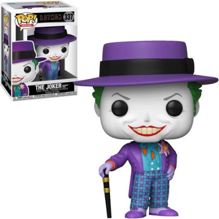 Boneco Funko Batman:  #337 - The Joker