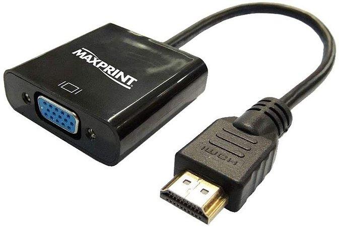 CABO CONVERSOR HDMI X VGA Maxprint