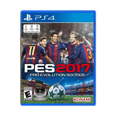 Jogo Pro Evolution Soccer 2017 (PES 2017) - PS4