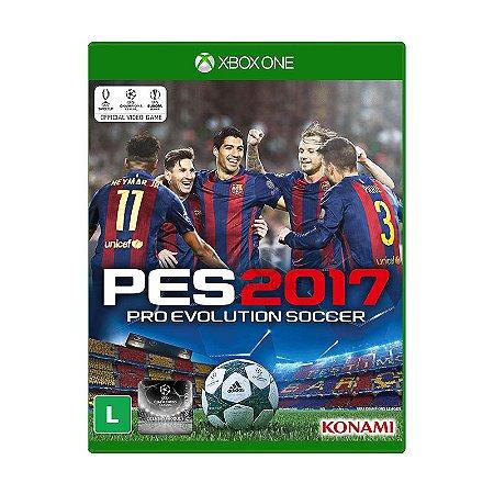 Jogo Pro Evolution Soccer 2017 (PES 2017) - Xbox One