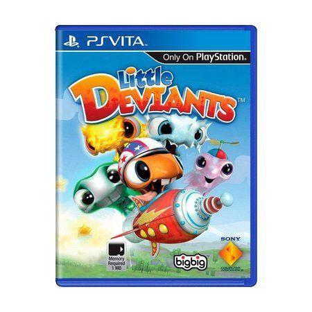 Jogo PS Vita Little Deviants