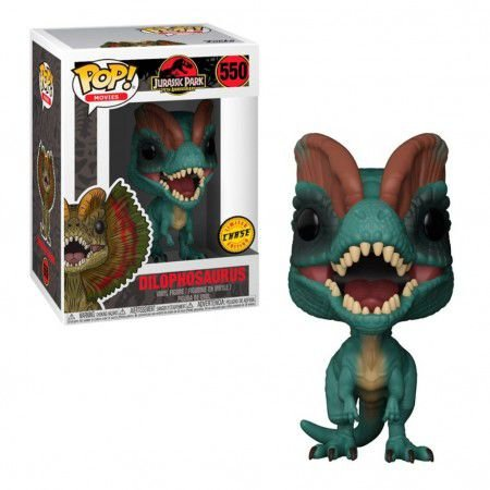Boneco Funko Jurassic Park #550 - Dilophosaurus