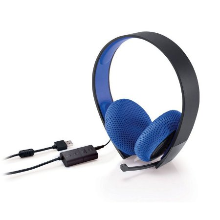 Headset Sony Silver Wired Stereo 7.1