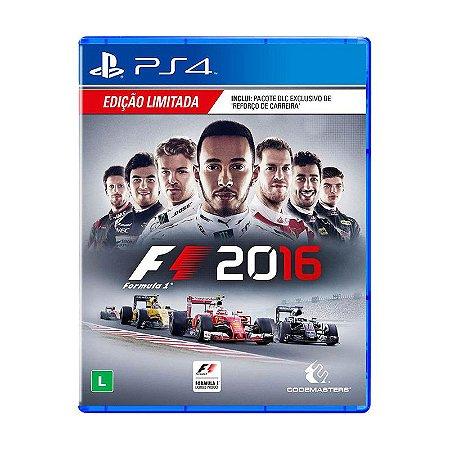 Jogo Formula 1 2016 (F1 2016) - PS4