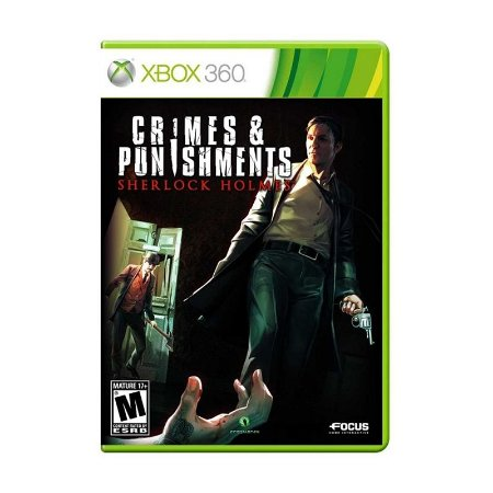 Jogo Crimes & Punishments: Sherlock Holmes - Xbox 360
