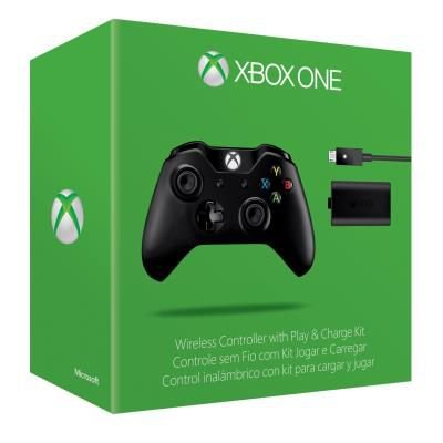 Controle Xbox One Com Play & Charger
