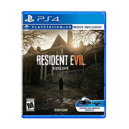 Jogo Resident Evil 7: Biohazard - PS4