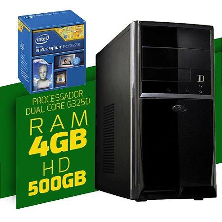 Computador NTC Intel Dual Core G3250 RAM 4Gb HD 500Gb