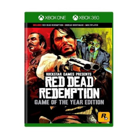 Jogo Red Dead Redemption: Game Of The Year Edition - Xbox One/Xbox 360