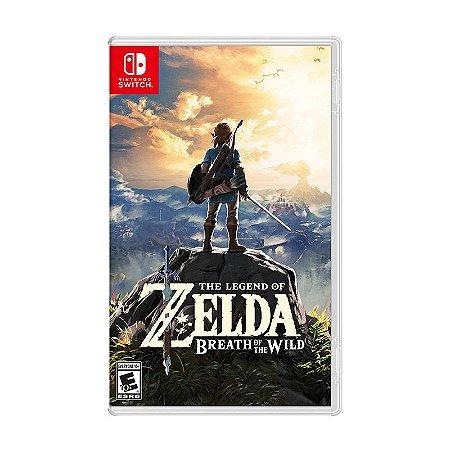 Jogo The Legend of Zelda: Breath of the Wild - Switch