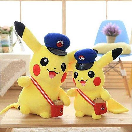 Pelúcia Pikachu - Pokemon GO