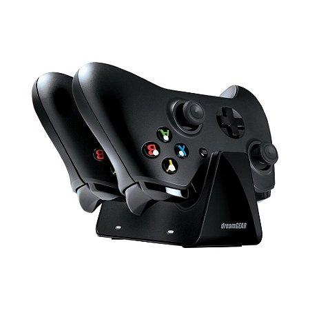 2 Controles Xbox One + Base Carregador Para 2 Controles - Dreamgear