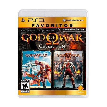 Jogo God of War: Favoritos Collection - PS3