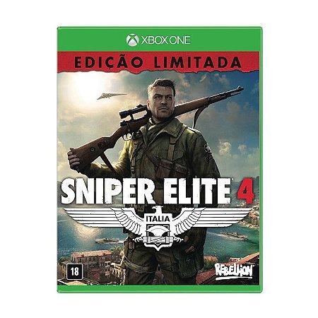Jogo Sniper Elite 4 (Edição Limitada) - Xbox One