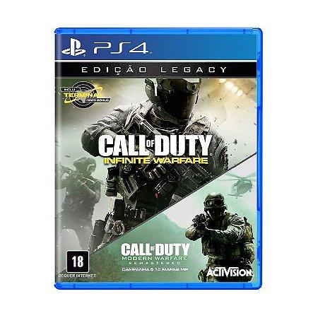 Jogo Call of Duty Infinite Warfare: Edição Legacy - PS4