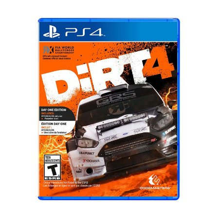 Jogo Dirt 4 - PS4