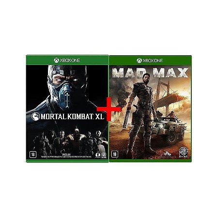 Jogos Mortal Kombat XL + Mad Max - Xbox One