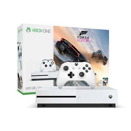Console Xbox One S 500Gb + Jogo Forza Horizon 3 -  Microsoft
