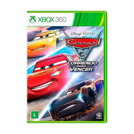 Jogo Carros 3: Correndo Para Vencer - Xbox 360