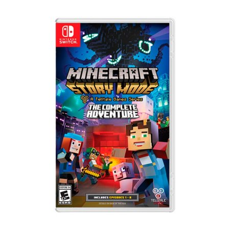 Jogo Minecraft: Story Mode (The Complete Adventure) - Switch