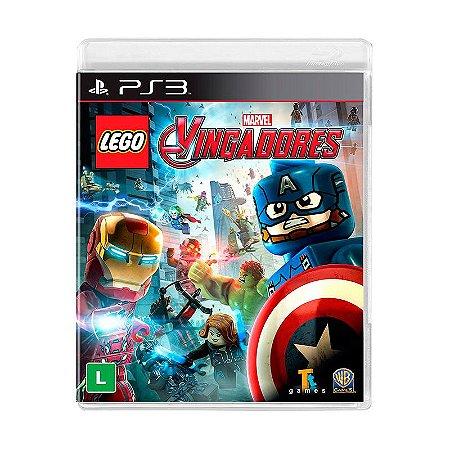 Jogo Lego Marvel Vingadores - PS3