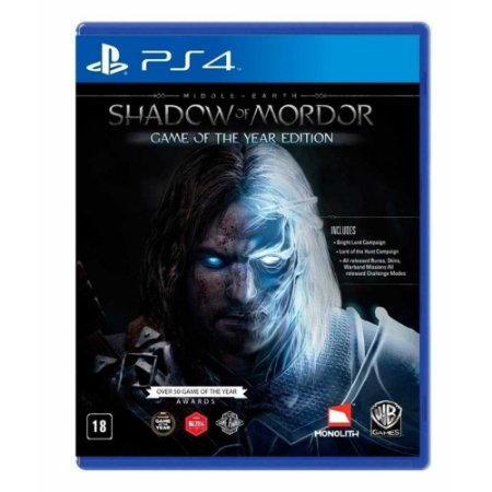 Jogo Terra-Média: Sombras de Mordor (Game of the Year Edition) - PS4