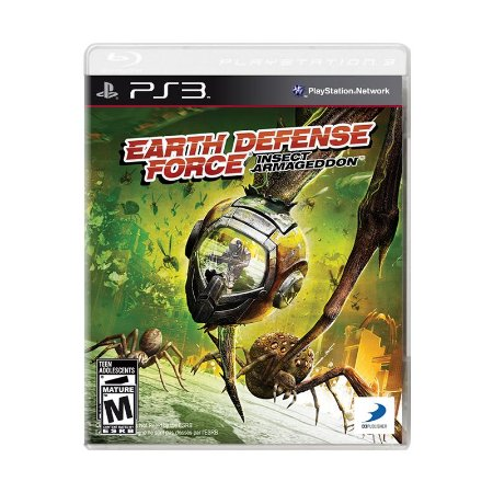 Jogo Earth Defense Force: Insect Armageddon - PS3