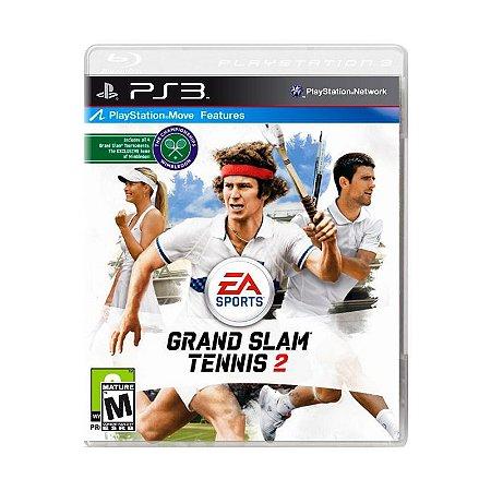 Jogo Grand Slam Tennis 2 - PS3