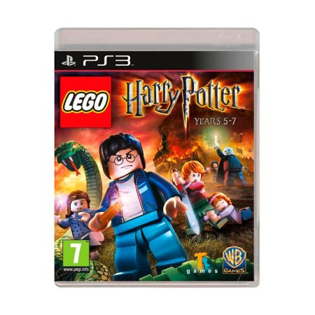 Jogo Lego Harry Potter: Years 5-7 - PS3