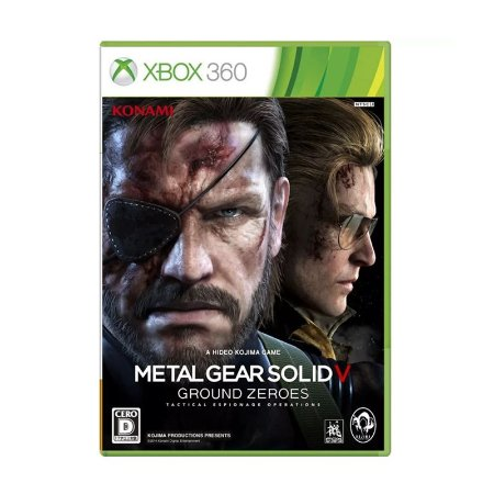 Jogo Metal Gear Solid V: Ground Zeroes - Xbox 360