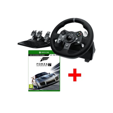 Volante Logitech G920 + Forza Motorsport 7 - Xbox One
