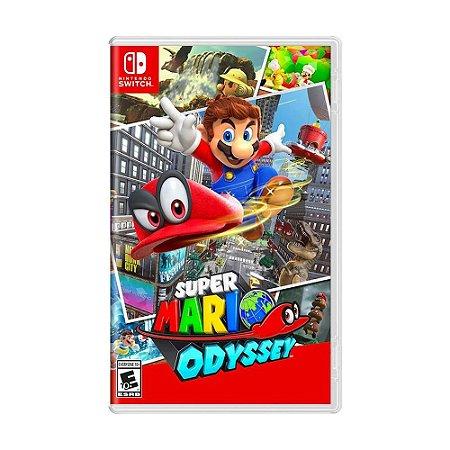 Jogo Super Mario Odyssey - Switch