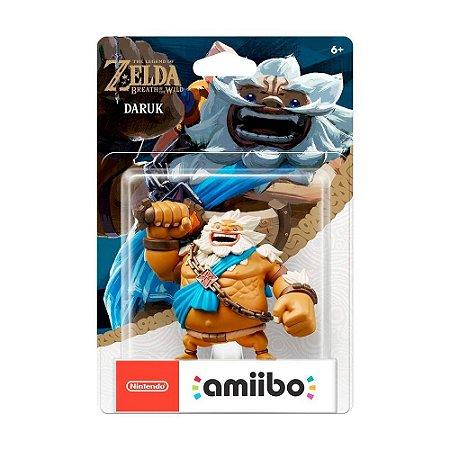 Nintendo Amiibo: Daruk - The Legend of Zelda: Breath of the Wild - Wii U, New Nintendo 3DS e Nintendo Switch