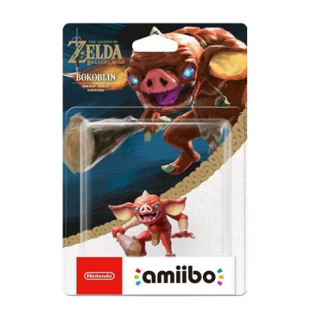 Nintendo Amiibo: Bokoblin - The Legend of Zelda: Breath of the Wild - Wii U, New Nintendo 3DS e Nintendo Switch