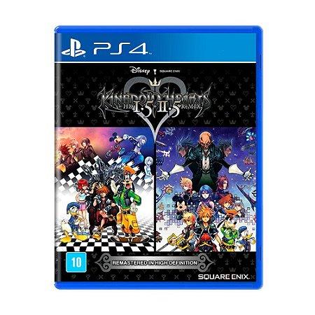 RPG Jogo Kingdom Hearts 1.5 + 2.5 Remix - PS4