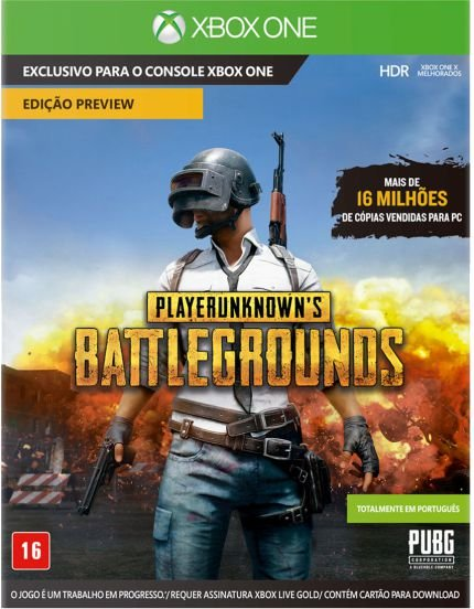 Jogo Playerunknown's Battlegrounds (PUBG) - Xbox One