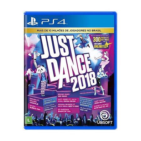 Jogo Just Dance 2018 - PS4