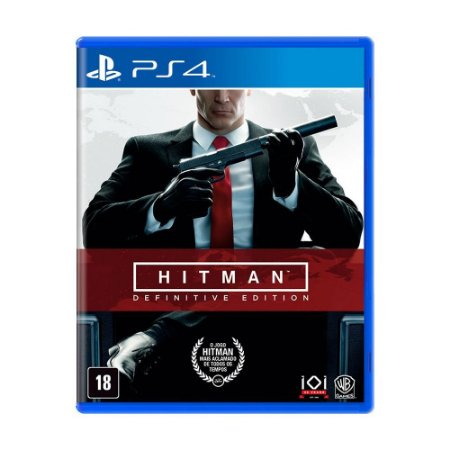 Jogo Hitman: Definitive Edition - PS4