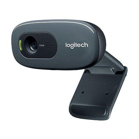 Webcam Logitech c270 HD 3Mp