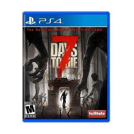 Jogo 7 Days to Die - PS4