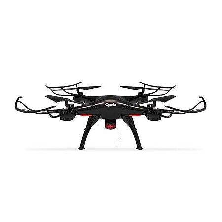 Mini Drone Com Camera Quanta Qtdc2050 Wifi Com control preto