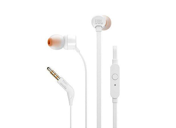 Fone De Ouvido In Ear Branco Jbl T110