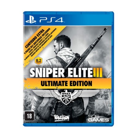 Jogo Sniper Elite 3: (Ultimate Edition) - PS4