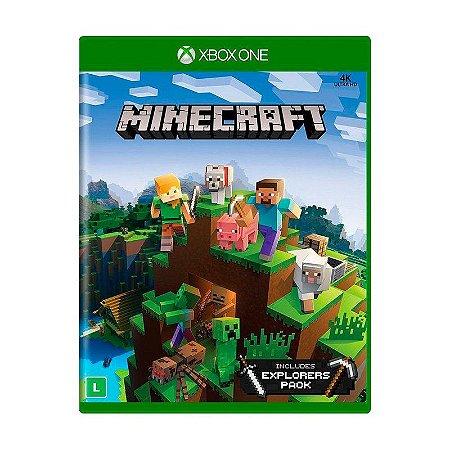 Jogo Minecraft (Pacote Exploradores) - Xbox One