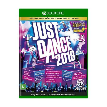 Jogo Just Dance 2018 - Xbox One