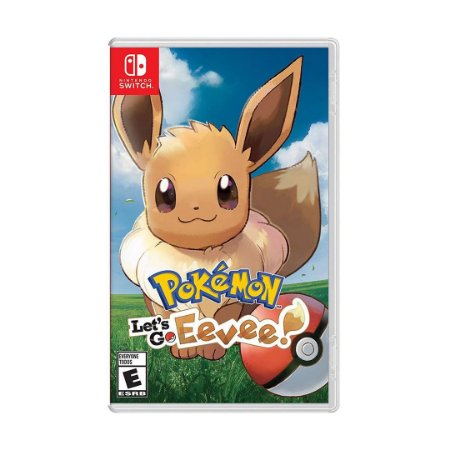 Jogo Pokemon: Lets Go Eevee - Switch