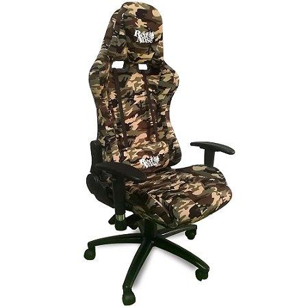 Cadeira Gamer Dazz Red Nose Camuflada