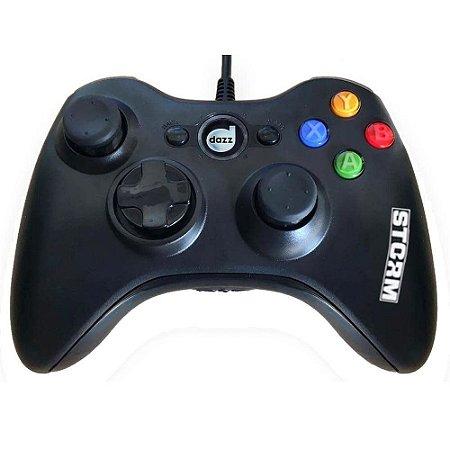 Controle Xbox 360 com fio Dazz