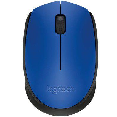 Mouse Logitech M170 Sem Fio Azul